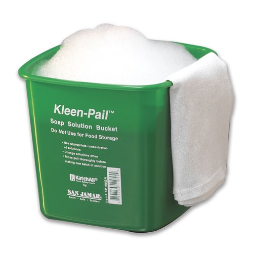 KLEEN PAILS/CLEANING SOLUTION PAILS GRN