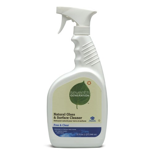 GLASS & SURFACE CLEANER FREE & CLEAR 8/32 OZ