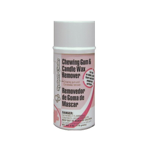 SYSTEM CLEAN CHEWING GUM & WX RMVR ARSL 12/6 OZ