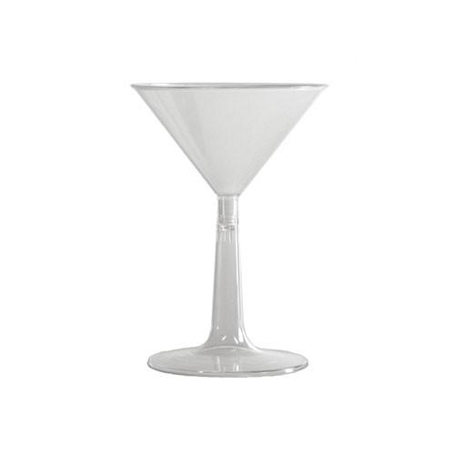 COMET MARTINI GLASS 2PC CLR 6 OZ 8/12'S