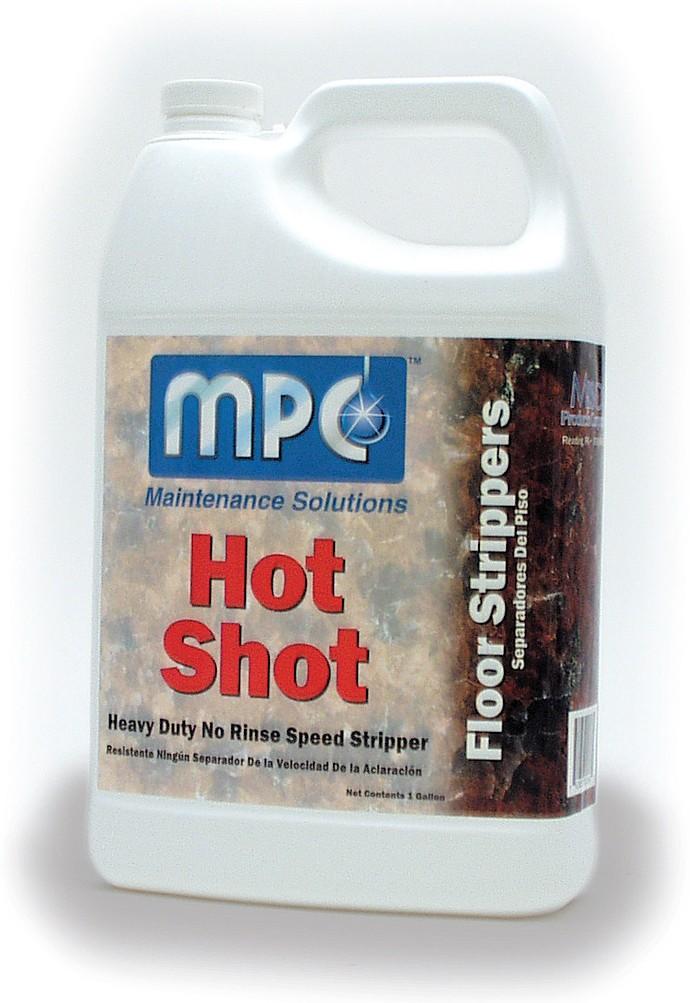 MISCO Hot Shot , Floor Stripper - 2.5 Gal.Container