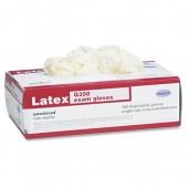 MEDICAL LTX EXAM GLOVE MED 4-5 MIL RL CUFF NAT 100
